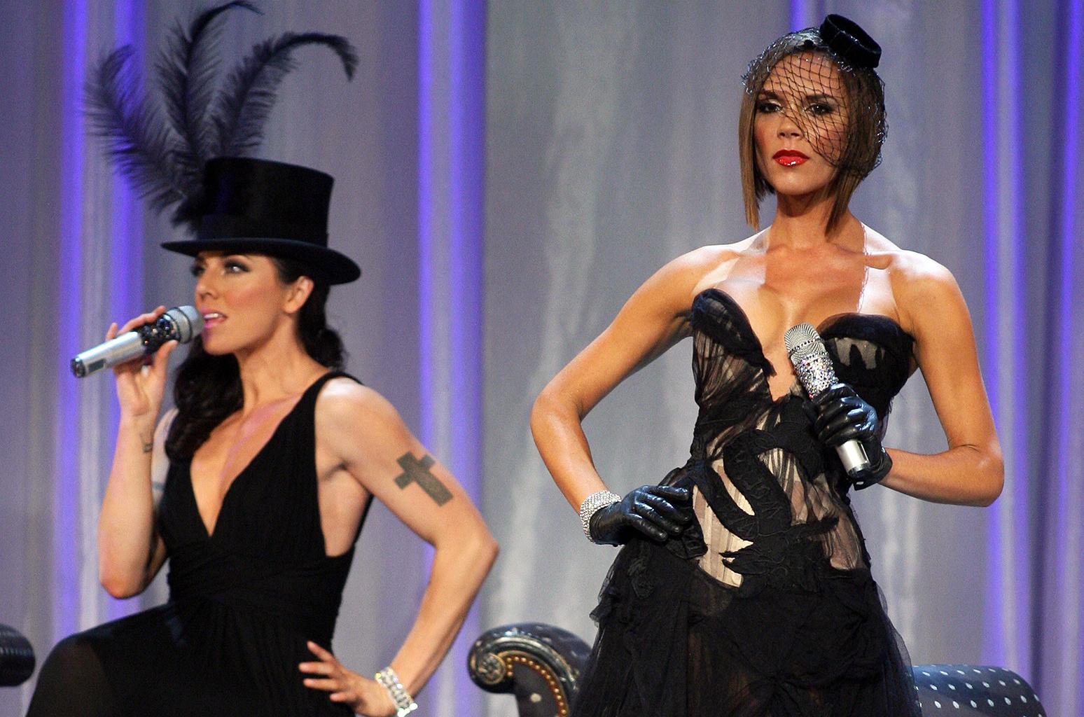 Spice Girls Victoria Beckham & Mel C Sing '2 Become 1': Video | Billboard