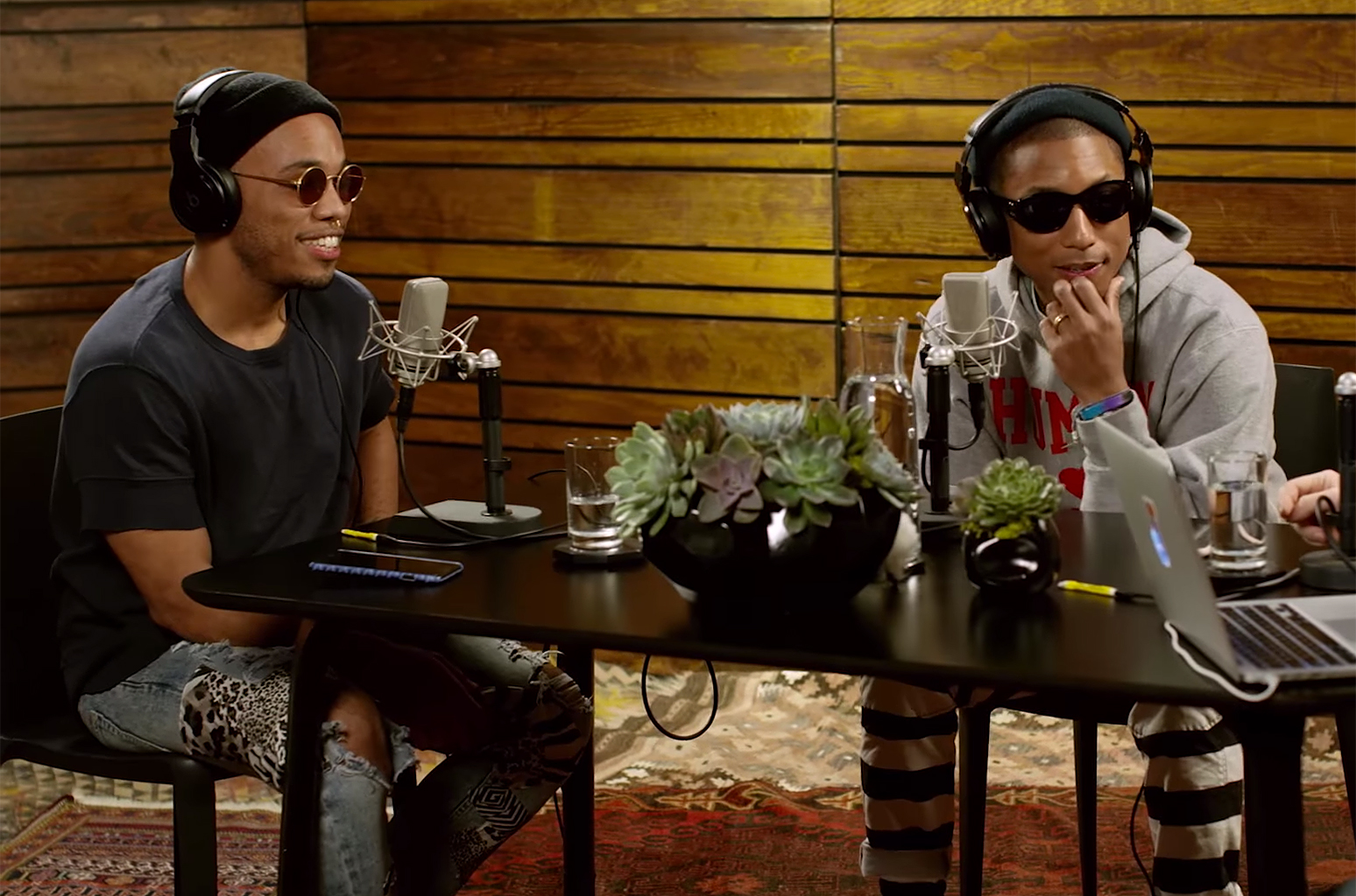 Anderson .Paak Appears on Pharrell's Beats 1 OTHERtone Show| Billboard | Billboard