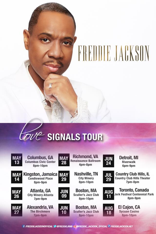 Freddie Jackson - Friends, I hope you are all enjoying a... | Facebook