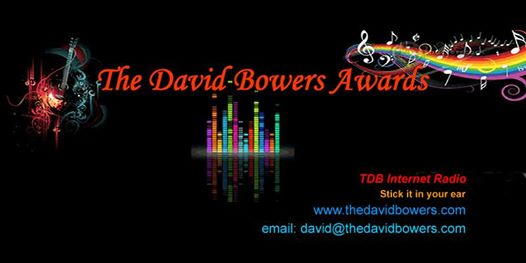 TheDavidBowersAwards with this weeik's guests Alexa Kriss and Gerg Anidem