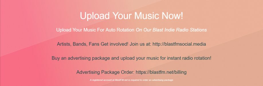 Blast Indie Radio Station Cover Image