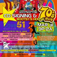 Bootsy Collins 70's House Party and CD signing