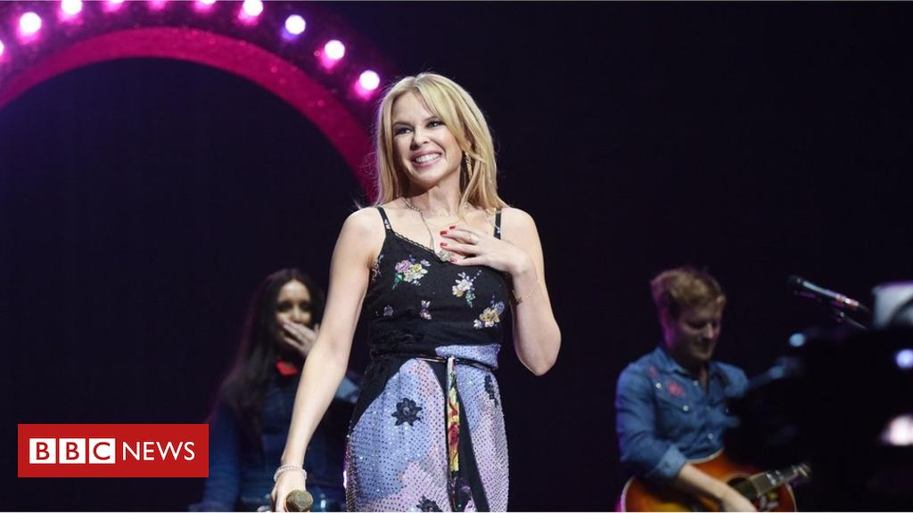 Kylie cancels Belfast concert due to illness - BBC News