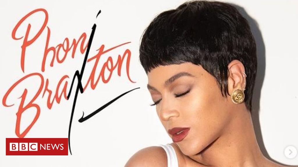 Beyonce recreates Toni Braxton album cover for Halloween - BBC News